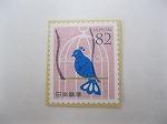 青い鳥の切手