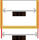 内寸法と外寸法の図